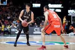 Valencia Basket and Bilbao Basket Stock Photography