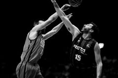 Valencia Basket and Bilbao Basket Royalty Free Stock Images
