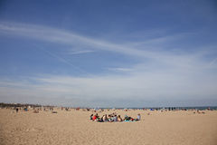 Valencia beach Stock Images