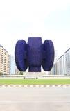 Valencia Blue Beniferri Roundabout Statue Photo stock