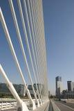 Valencia bridge. Famous bridge of valencia, spain Royalty Free Stock Images