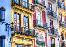 Valencia building. Hdr in spain Stock Images