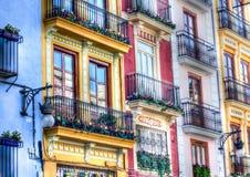 Valencia byggnad Arkivbilder