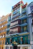 Valencia Casa Judia house Egyptian Castello street Stock Image