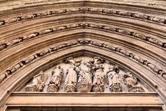 Valencia cathedral Royalty Free Stock Photo