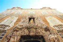 Valencia Cathedral royalty-vrije stock foto's