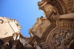 Valencia Cathedral Fotografia Stock Libera da Diritti