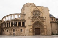 Valencia Cathedral Fotografie Stock