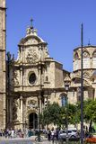 Valencia Cathedral-Basilica Fotografia Stock