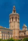 Valencia Cathedral church of Santa Maria, Spain Stock Photos