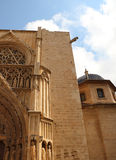 Valencia Cathedral Detail Image libre de droits