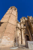 Valencia cathedral and Miguelete Stock Photos
