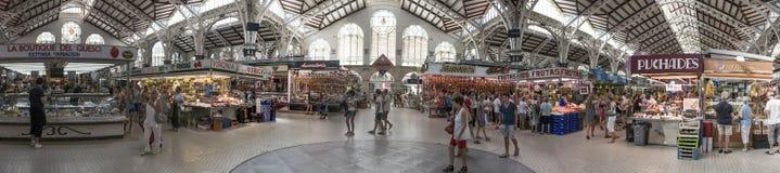 Valencia Central Market foto de archivo libre de regalías