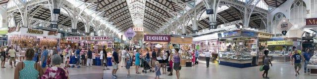 Valencia Central Market Stock Photos