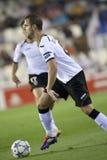Valencia-CF gegen Chelsea Stockfotografie