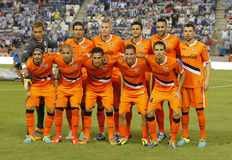 Valencia CF Team Stock Photography