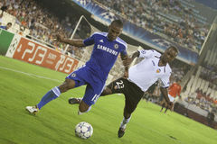 Valencia CF vs Chelsea Royalty Free Stock Photo