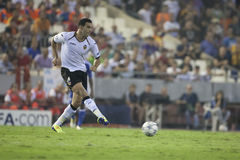 Valencia CF vs Chelsea Royalty Free Stock Photos