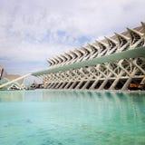 Valencia, città delle arti Immagine Stock Libera da Diritti