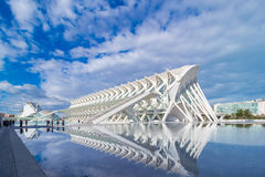 Valencia - città delle arti e delle scienze Fotografie Stock