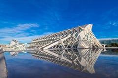 Valencia - città delle arti e delle scienze Fotografia Stock