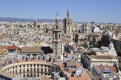 Valencia city stock image