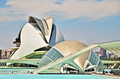 Valencia - City of Art and Science Royalty Free Stock Image