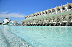 Valencia - City of Art and Science Royalty Free Stock Photos