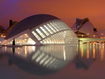 Valencia : City of arts Royalty Free Stock Images