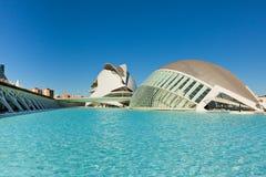 Valencia City of Arts and Sciences Royalty Free Stock Photos