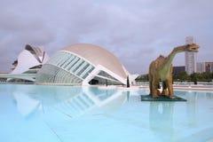 Valencia - City of Arts and Sciences Royalty Free Stock Photo