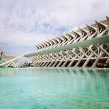 Valencia, City of arts Royalty Free Stock Image