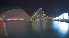 Valencia, City of Arts and Sciences Stock Image