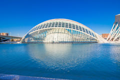 Valencia - city of arts and sciences Royalty Free Stock Images