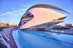 Valencia City of Arts and Sciences Royalty Free Stock Image