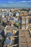 Valencia city - Cathedral. Miguelete Tower, Cathedral in Valencia Stock Images