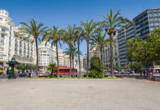 Valencia city centre Stock Images