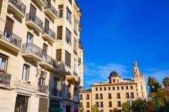 Free Valencia City Downtown Bailen Street Spain Stock Photography - 67685512