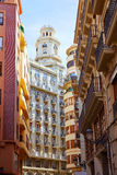 Valencia city downtown in Spain Stock Photography