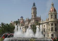 Valencia, City Hall Stock Photo