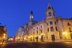 Free Valencia City Hall On Plaza Del Ayuntamiento In Valencia Royalty Free Stock Images - 106972909