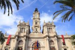 Valencia City Hall Royalty Free Stock Image