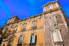 Valencia city Marques de Dos aguas building Stock Images