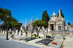 Valencia city municipal cemetery at Spain Royalty Free Stock Photo