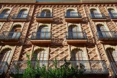 Valencia city Passeig Russafa in Ruzafa downtown Royalty Free Stock Image