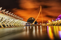Valencia, City of Science and Art, Spain Royalty Free Stock Images