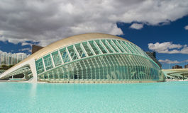 Valencia: City of Sciences Stock Photography