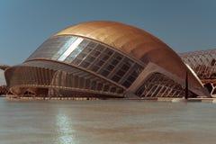 Valencia. City of Valencia Spain city of art and sciences Stock Photography