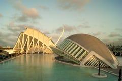 Valencia. City of Valencia Spain city of art and sciences Stock Photo