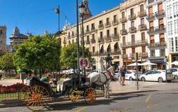 Valencia city, Spain Stock Image